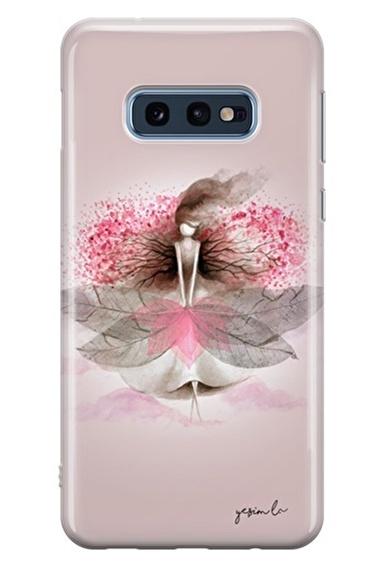 Lopard Samsung Galaxy S10E Kılıf Sakura Kapak Renkli